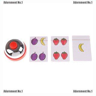 [AdornmentNo1] Halli Galli Board Game 2-6 Players Cards Game For Party/Family/Friends Easy To Play