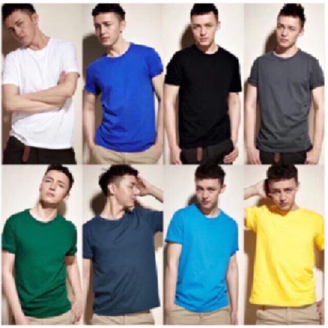 ÁO THUN TRƠN Nam Nữ form rộng - nhiều size - áo phông trơn