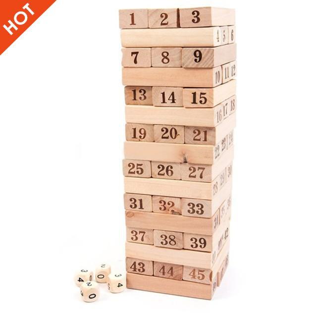 [ẢNH TỰ CHỤP] – Bộ đồ chơi rút gỗ 48 thanh to