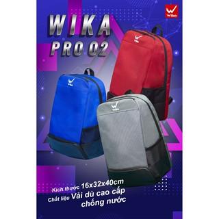 Balo thể thao Wika Pro 02 Chính Hãng , Balo bóng đá có ngăn đựng giày riêng biệt thumbnail
