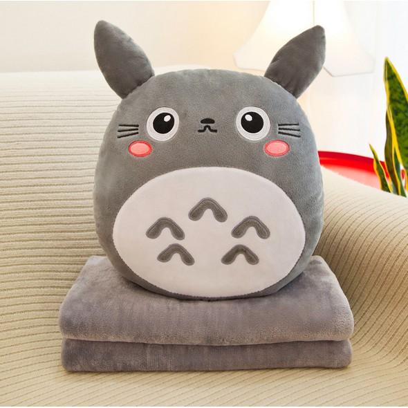 [Hàng mới về] Bộ gối ngủ văn phòng Totoro 3in1 , Gối ngủ Totoro 3in1
