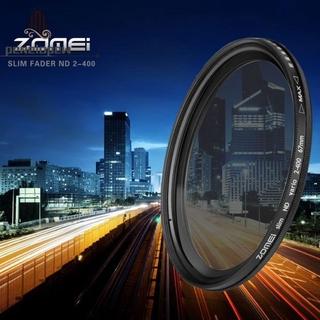 pw Adjustable Neutral Density Fader filter ND2-400 Camera LensFilter