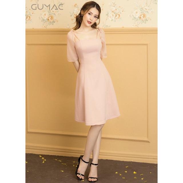 Váy hồng gumac