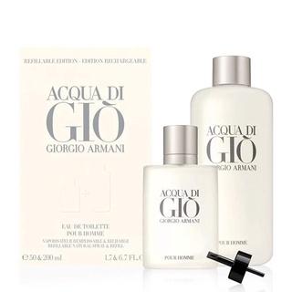 Set Nước Hoa Nam Giorgio Armani Acqua Di Gio Pour Homme 2pcs ( 50ml & Refill 200ml ) - Scent of Perfumes thumbnail