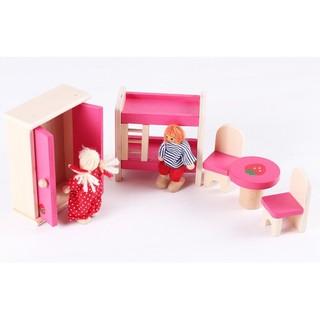 Bộ đồ chơi nội thất nhà búp bê