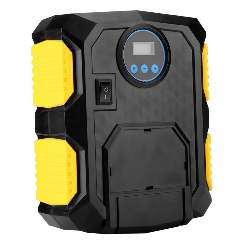 Digital Tire Inflator DC 12 Volt Portable Pump 150 PSI Air Compressor for Car Bi
