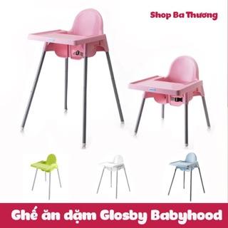 Ghế ăn dặm Glosby (Babyhood) điều chỉnh độ cao (có video)