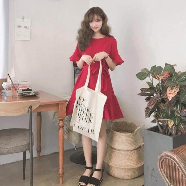 (Order) Váy nữ HQ (đỏ/hồng)