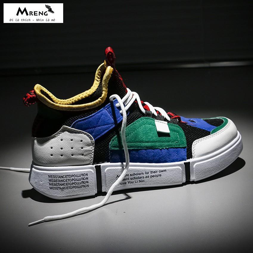 ⚡GIÁ HỦY DIỆT⚡ Giày Sneaker Nam - MRENG MS33