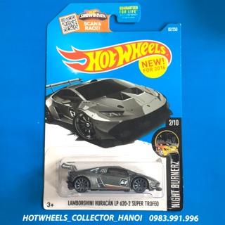 Xe Hot Wheels – Lamborghini Huracán LP 620-2 Super Trofeo