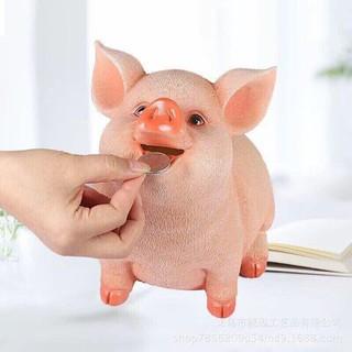 [SHIP THẦN TỐC] Lợn Heo Tiết Kiệm Đút Tiền 3D Cao Cấp(Sứ)