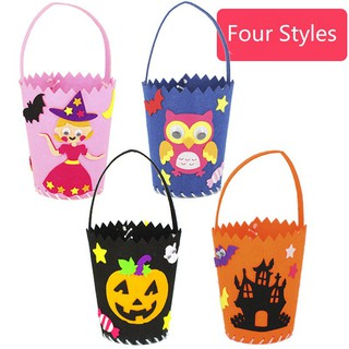 🍍SALE🍍Halloween candy bag DIY handmade gift bag children's educational toys