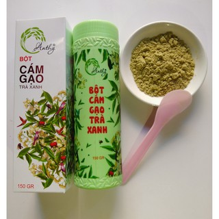 Hộp cám gạo trà xanh Anthy Organic 150GR