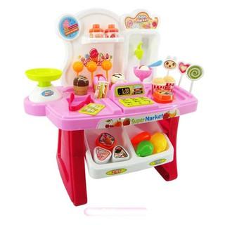 Bộ đồ chơi siêu thị mini 34 món cho bé