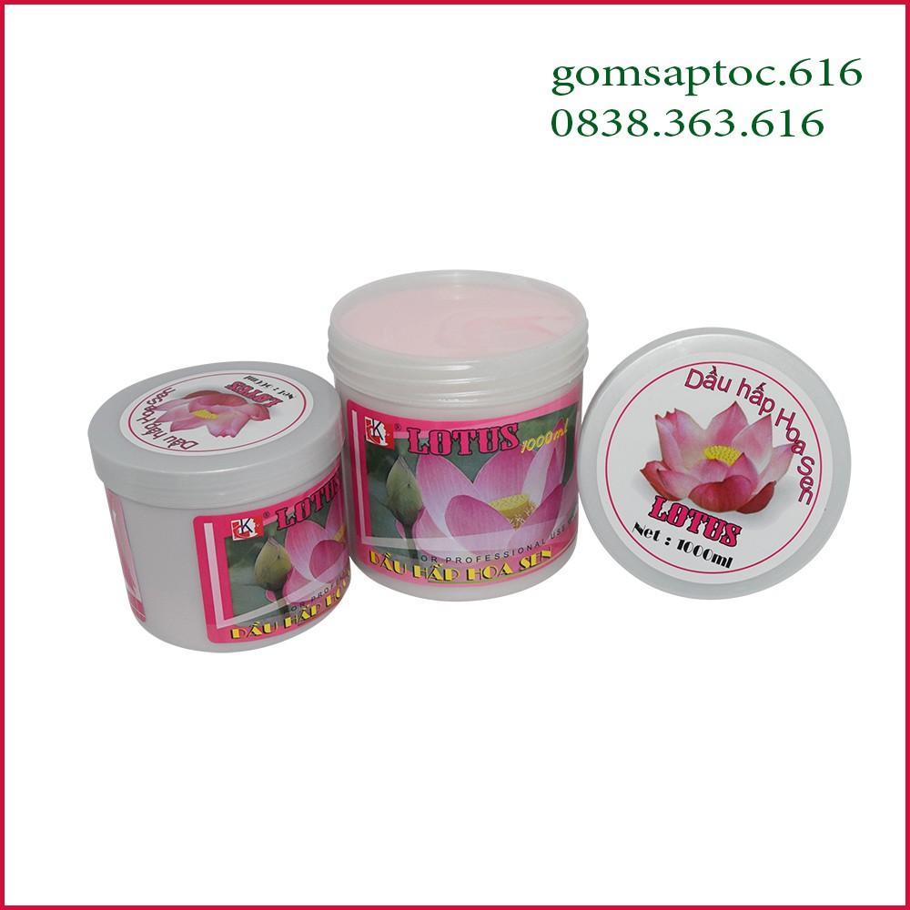 [xả hàng]Dầu hấp dưỡng tóc Hoa Sen 500ml - 1000ml chính hãng chuẩn salon hàng công ty