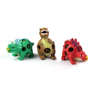 PARA*3PCS/Pack Decompression Toys Dinosaur Pressure Releasing Ball