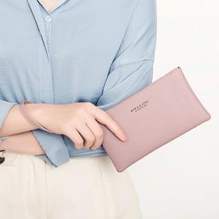 Ví nữ dài cầm tay nhiều ngăn thời trang da mềm ATLAN Túi đựng điện thoại đeo tay nữ da mềm ATLANV8 thumbnail