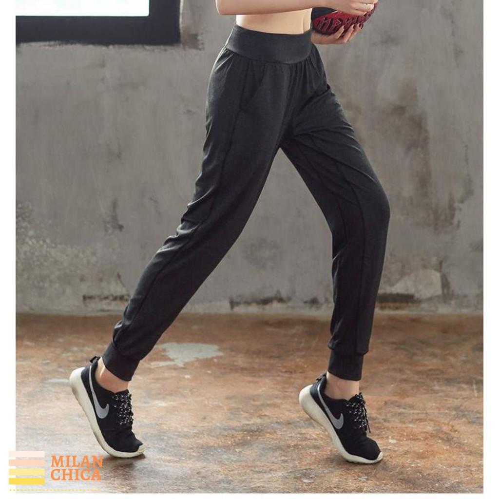 Quần dài Jogger có túi thể thao nữ Numbers (Đồ Tập Gym yoga) (Không Áo) - Cửa Hàng Việt Nam - Livan Sport