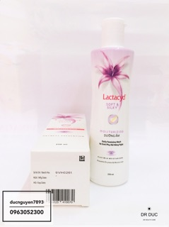 Dung dịch vệ sinh phụ nữ hằng ngày LACTACYD SOFT AND SILKY 4