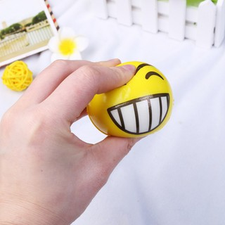 3 Pcs/set Kids Soft Hand Wrist Exercise Funny Expression Balls