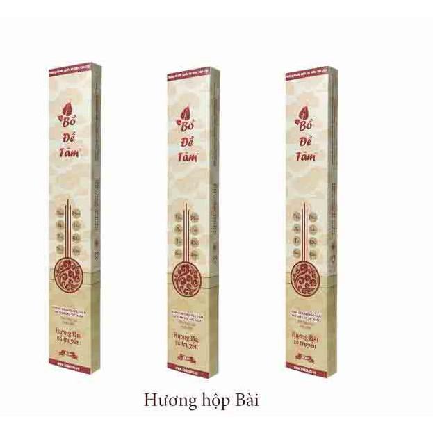 Hương Bài Bồ Đề Tâm hộp giấy (100% Thảo mộc tự nhiên)