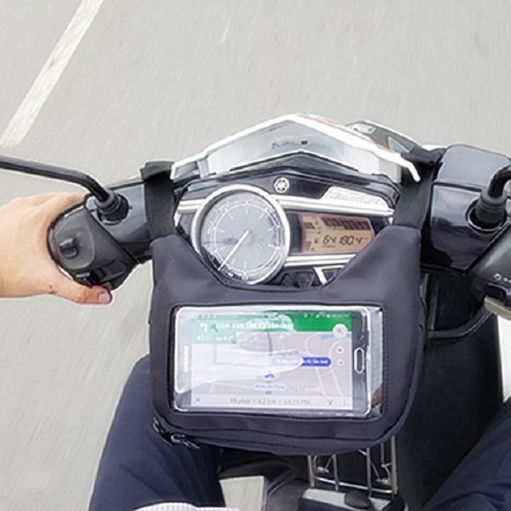 - Túi Treo Trước Ghi Đông Xe Máy Xem Google Map, Chứa Đồ, Chạy Grab,..