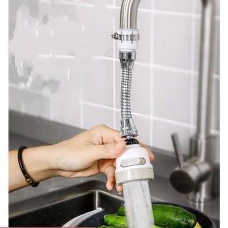 Vòi Nối Tăng Áp Xoay 360 độ công Nghệ Đức - Vòi rửa bát tăng áp lực thế hệ mới 206797 thumbnail