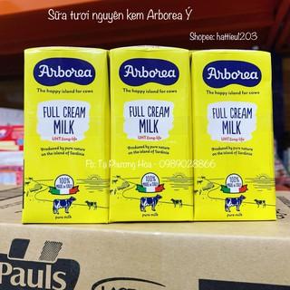 Sữa tươi nguyên kem Arborea nhập từ Ý hộp 200ml - Tách lẻ 1 hộp thumbnail