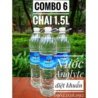Combo 6 chai Nước A/ Nước Anolyte