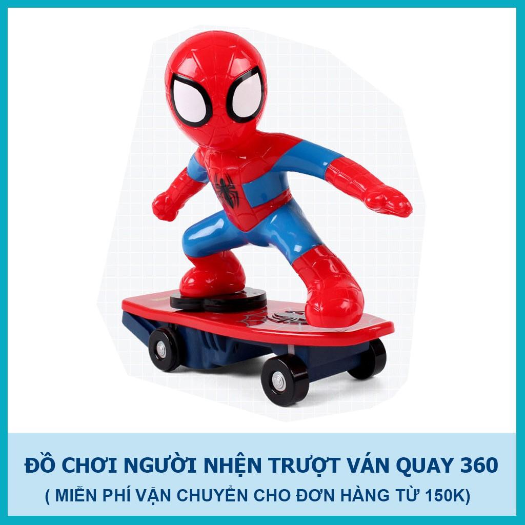 Đồ chơi người nhện trượt ván cho bé phát nhạc xoay 360 độ - 3206946 , 1138793561 , 322_1138793561 , 99000 , Do-choi-nguoi-nhen-truot-van-cho-be-phat-nhac-xoay-360-do-322_1138793561 , shopee.vn , Đồ chơi người nhện trượt ván cho bé phát nhạc xoay 360 độ