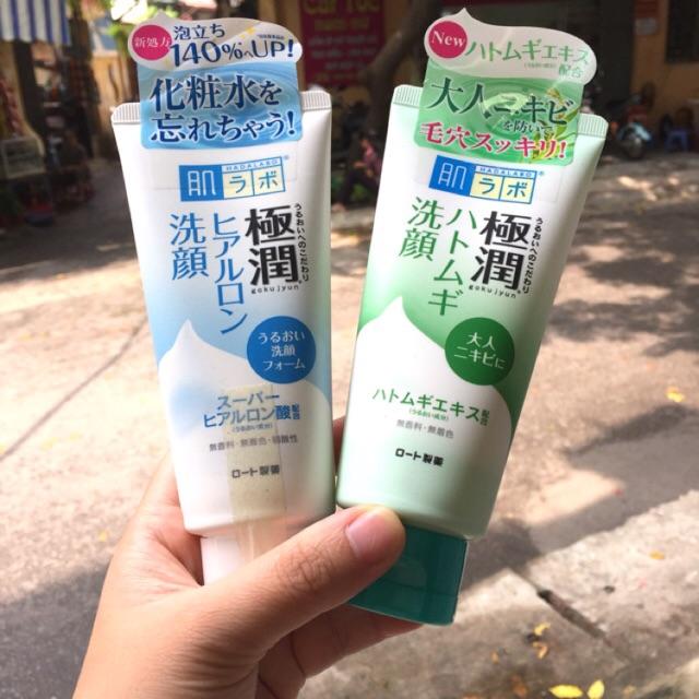 Sữa rửa mặt Hadalabo Gokujun Hyaluronic - 2679940 , 202905935 , 322_202905935 , 175000 , Sua-rua-mat-Hadalabo-Gokujun-Hyaluronic-322_202905935 , shopee.vn , Sữa rửa mặt Hadalabo Gokujun Hyaluronic
