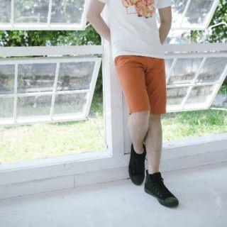 Quần short kaki – màu cam gạch