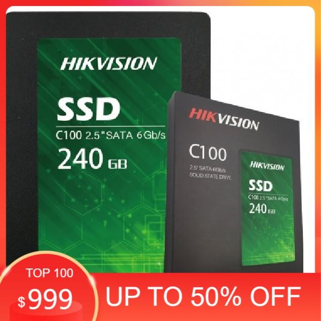 Ổ cứng SSD Hikvison C100 120G, 240GB  - Bảo hành 36 tháng - Hàng Chính hãng