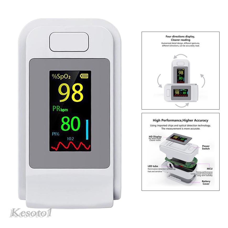 Máy đo nồng độ bão hòa oxy trong máu SpO2 chế độ xung dành cho gia đình khi đi du lịch