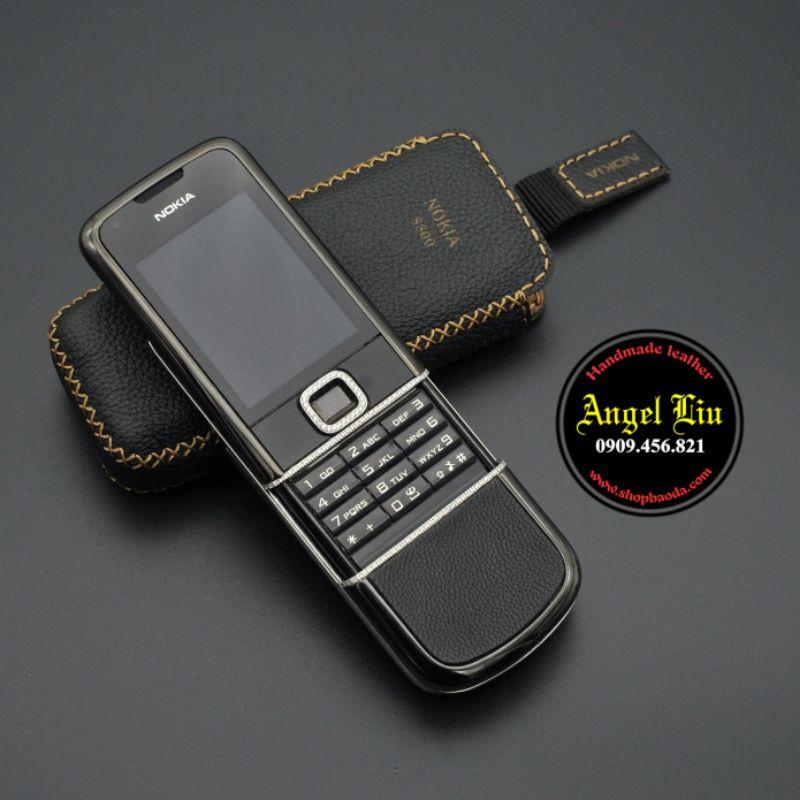 [ Da Bò Thật 100% ] Bao Da Nokia 8800 , bao da nokia 8800