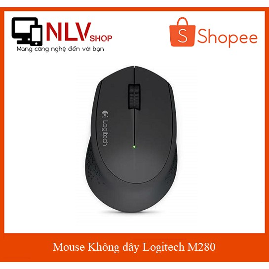 Mouse Không dây Logitech M280 - 2686664 , 1301820869 , 322_1301820869 , 145000 , Mouse-Khong-day-Logitech-M280-322_1301820869 , shopee.vn , Mouse Không dây Logitech M280