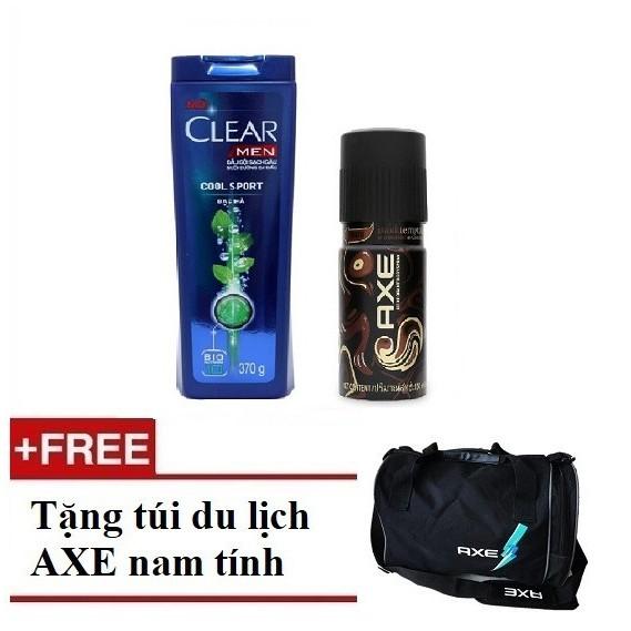 [QUÀ] Combo Dầu gội Clear Men 370g và Xịt khử mùi AXE Dark 150ml (MSP 67042982-67224977) + Tặng 1 tú - 3221147 , 600005919 , 322_600005919 , 190000 , QUA-Combo-Dau-goi-Clear-Men-370g-va-Xit-khu-mui-AXE-Dark-150ml-MSP-67042982-67224977-Tang-1-tu-322_600005919 , shopee.vn , [QUÀ] Combo Dầu gội Clear Men 370g và Xịt khử mùi AXE Dark 150ml (MSP 67042982-6