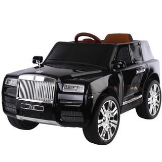 Ô tô xe điện Rolls-Royce LB-R8 đồ chơi vận động cho bé cao cấp 4 động cơ (Đỏ-Đen-Trắng)