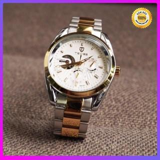[Hàng xịn] Đồng hồ nam chính hãng TEVISE dây thép chạy full kim - bảo hành 2 năm (tặng kèm hộp , phụ kiện thâu dây) thumbnail