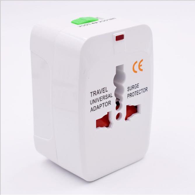 Ổ cắm điện du lịch đa năng ADAPTER INTERNATIONAL (White) ... Giá tốt