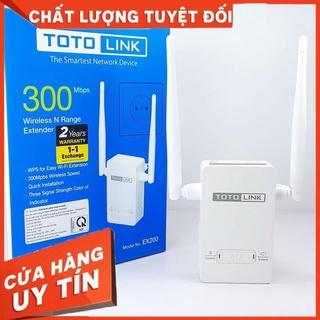 Bộ Kích Sóng Wifi Totolink Ex200 Repeater 300Mbps - Sản Phẩm Chính Hãng Bảo Hành 24 Tháng thumbnail