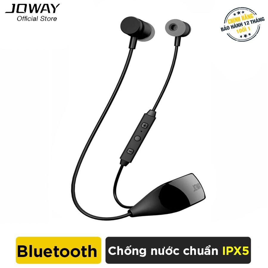 Tai nghe Bluetooth JOWAY H09 Hỗ trợ đàm thoại, nghe nhạc 14h - Hàng Chính Hãng