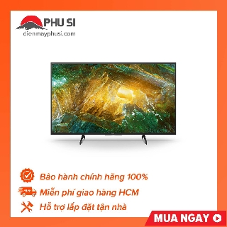 [GIAO HCM] Android Tivi Sony 4K 65 inch KD-65X8050H - 65X8050H thumbnail