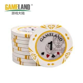 Chip Poker Gameland cao cấp 2