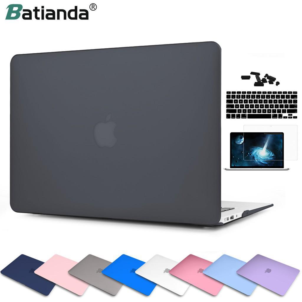 Bộ Ốp Nhựa Cứng Batianda Mặt Nhám Cho Apple Macbook Air 13 A1466 A1369 Và New Air 13 2018 2019 A1932 2020 A2179 thumbnail