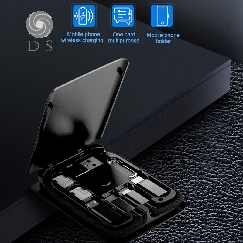 Multi-function Universal Smart Adaptor Card Storage Box