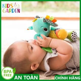 Thú bông sột soạt hình voi kèm gặm nướu BPA Free Infantino 005378