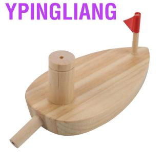 Ypingliang Children Water Boat Balloon Powered Wooden Cartoon Kids Swimming Toys Sports Toy Pool Accessories