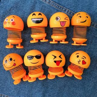 Bộ emojji lò xo đồ chơi giảm stress