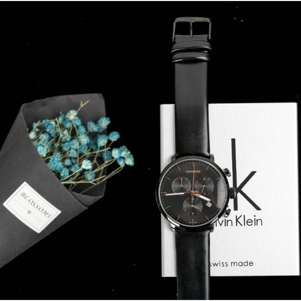 Calvin Klein Watch Fashion CK wristwatch นาฬิกาควอทซ์ นาฬิกาควอทซ์